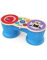 Baby Einstein, Hape Magic Touch Upbeat Tunes Muziektrommel, Houten Speelgoed, Vanaf 6 Maanden, Meerkleurig