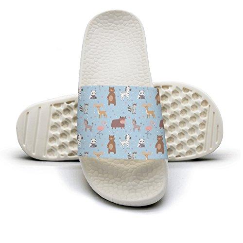 Xjdws Pandbears Cartowildlife Nature Comfort Womens Sandals Indoor/Outdoor Comfort Nature Flip Flop Performance B07H5M4QC3 Parent 93d78a