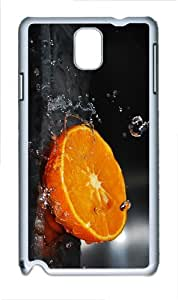 case pretty cover Orange Water PC White case/cover for Samsung Galaxy Note 3 N9000