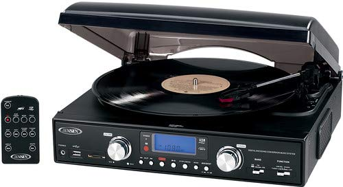 Jensen JTA-460 3-Speed Stereo Turntable Review