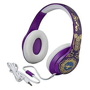 eKids Disney Aladdin Over The Ear Wired Headphones with Built in Microphone Quality Sound from The Makers of iHome
