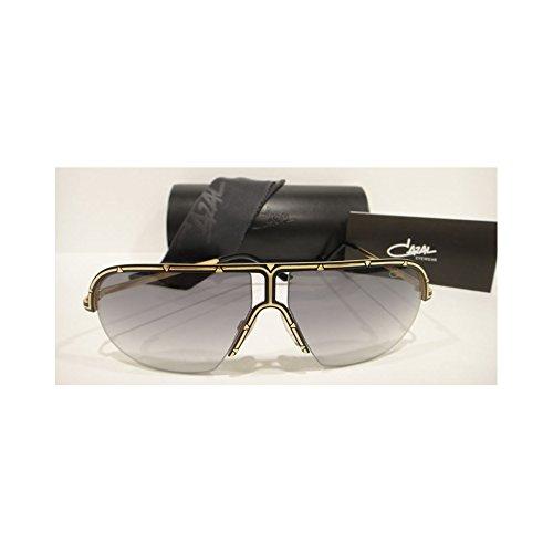 CAZAL 9047 SUNGLASSES BLACK GOLD (001) AUTHENTIC - Vintage Sunglasses Cazal