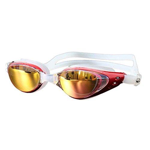 Femmes Fog Outdoor anti Hommes Lens de rose Lunettes de natation Lunettes natation Lunettes unisexe protection UV plage lidahaotin étanche wFCfHqEnH