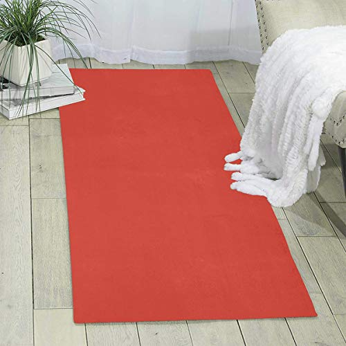 - MOANDJI Cinnabar Solid Color Area Rugs Traditional Collection Carpet for Play Safe Learn Educational & Have Fun 70