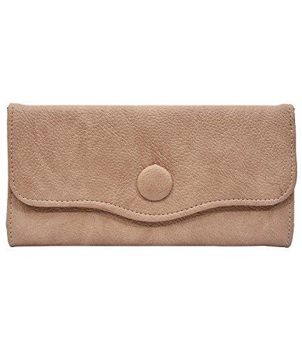 Fristo Women's Wallet(FRW-056)Cream
