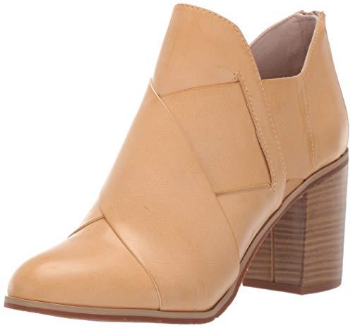 BC Footwear Women's Azalea Ankle Boot, Natural, 7.5 Medium US