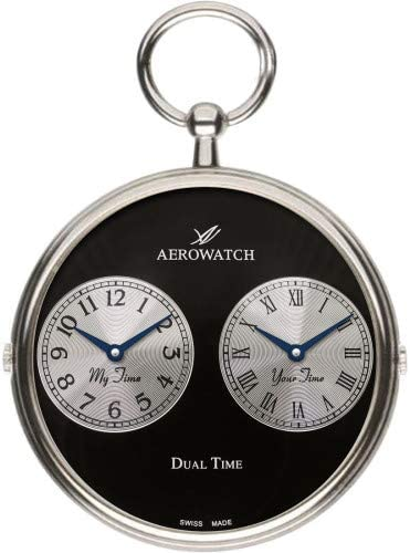 [アエロ]AERO WATCH デュアルタイム クォーツ 懐中時計05826PD03【正規輸入品】