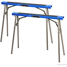 HICO wholesale Folding Metal Sawhorse,Sawhorse Brackets 2-Pack