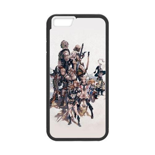 Final Fantasy Xiv 3 coque iPhone 6 4.7 Inch Housse téléphone Noir de couverture de cas coque EOKXLLNCD10373