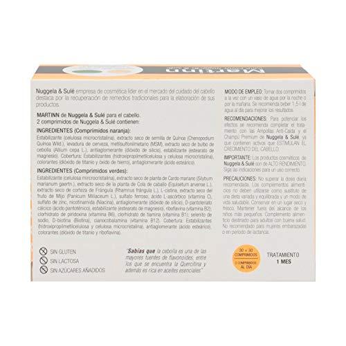 Amazon.com : Nuggela & Sulé Martinn 30Comp+30Comp - Perfect For Damaged Hair - Stimulates Hair Growth - Nourishes The Hair - Hair Care - Spain : Beauty