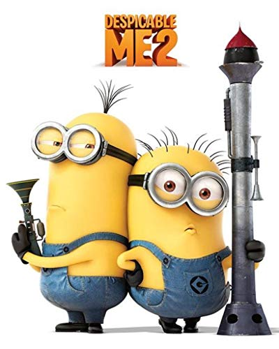 Despicable Me 2 Poster Pack Armed Minions 40 x 50 cm (5) Pyramid International
