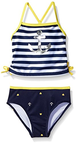 Nautica Sportswear Tankini Graphic Swimsuit