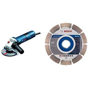 Bosch Professional Winkelschleifer Gws 7 125 720 Watt Scheiben O