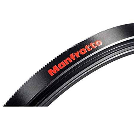 Manfrotto Essential MFESSUV-52 Filtro UV da 52 mm Nero//Antracite