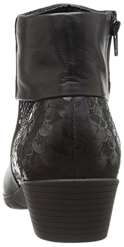 Iris Mephisto Ankle Women's Bootie Queen Silk Black 05wPqn56