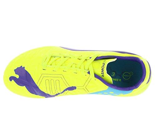 Puma Evopower 3 Fg - Zapatillas de fútbol amarillo FLUO