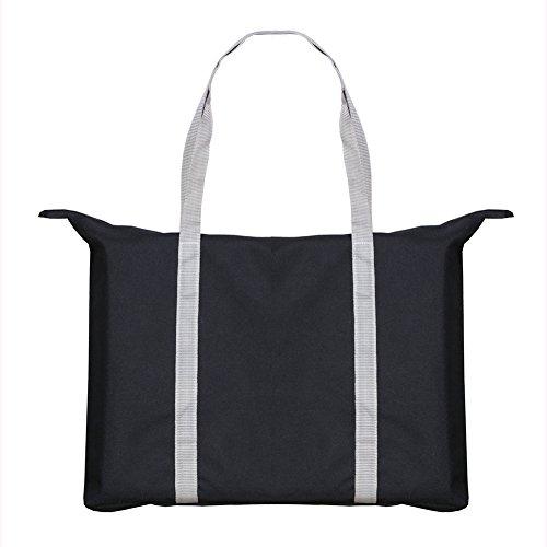 Portable Chair Pad Cushion - Booster Stadium Bleacher Seat - Black and ()