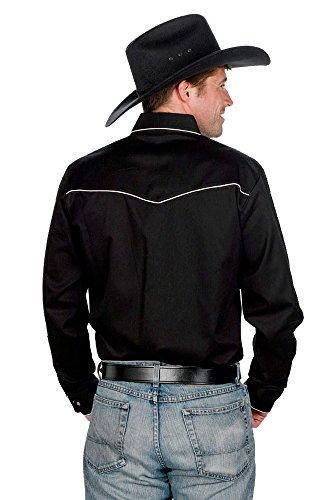 9e984fdb Sunrise Outlet Men's 100% Cotton Retro Western Cowboy Shirt