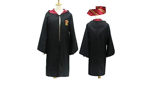 Tie] con Harry Potter Gryffindor Robe S tama?o capote ...