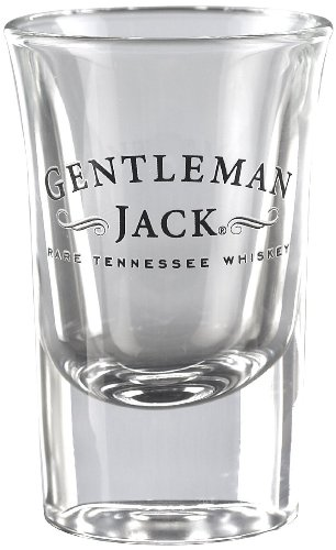 Jack Daniel's Licensed Barware Gentleman Jack Shot Glass