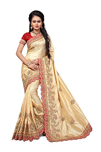 Designer 11 Women Wear Facioun Traditional Indian Party Sari Da for Beige Wedding Sarees pIY7w6xq