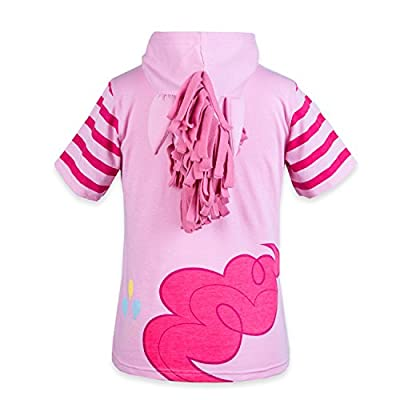 My Little Pony Hooded Shirt - Rainbow Dash, Twilight Sparkle, Pinky Pie - Girls: Clothing