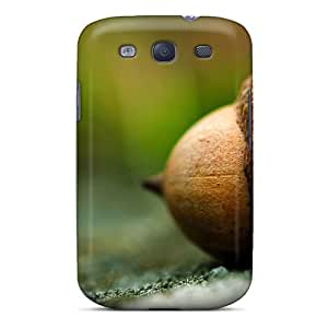 High Quality Joseph Lee Pine Nuts Skin Case Cover Specially Designed For Galaxy - S3
