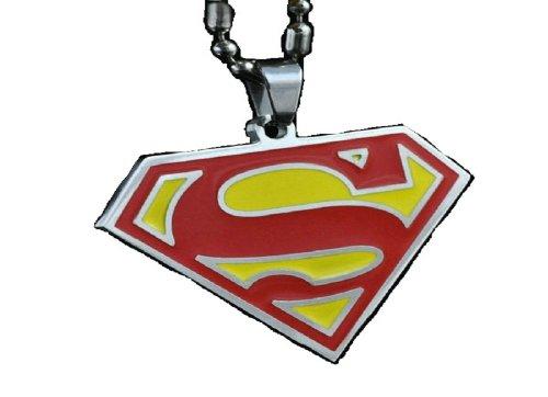 Fashion Jewelry ~ Superman Pendant Necklace