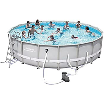Power Steel Frame Pool Set, 18' x 48""