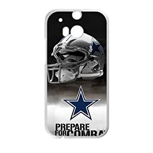 Happy Dallas Cowboys Cell Phone Case for HTC One M8