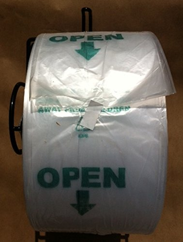 Crown Pull - Produce Roll Bags 15x20 High Density PULL-N-PAK Supermarket 4 Rolls