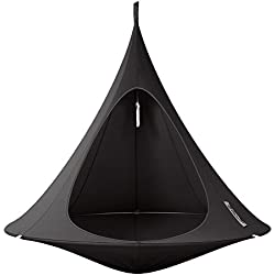 Cacoon Double Hanging Hammock | Black