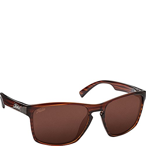 Copper Polarized Frame - Hobie Eyewear Oxnard Sunglasses (Shiny Wood Grain Frame/Copper Polarized Pc