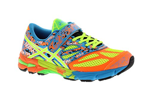 Junior Shoes GEL 10 PS NOOSA TRI-Flash Coral 15/16 Asics azul Hot Orange Flash Yellow