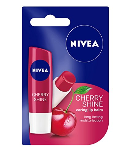 Nivea Lip Care Fruity Shine Cherry, 4.8Gm (Shine Cherry)
