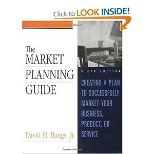 Market Planning Guide David H. Bangs Jr.
