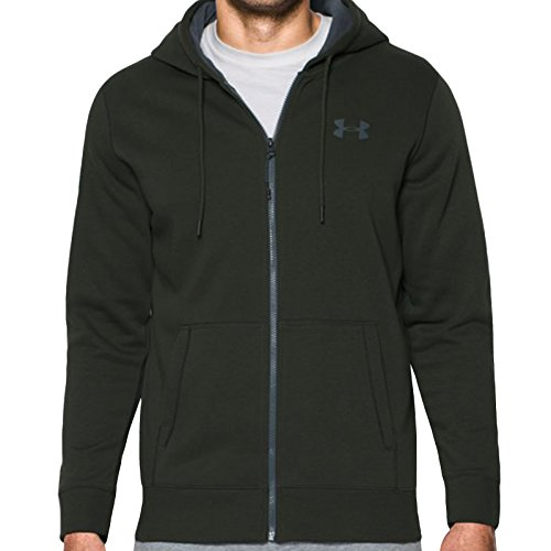 Under Armour Storm Rival Cotton Zip Hoody X Large Artillery Green