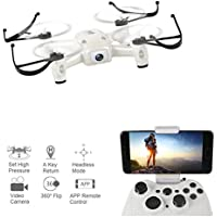 WiFi FPV Drone 720P Camera 3D Flip Altitude Hold & 1-Key Takeoff/Landing 2.4GHz 6Axis RC Quadcopter RTF L8Hw