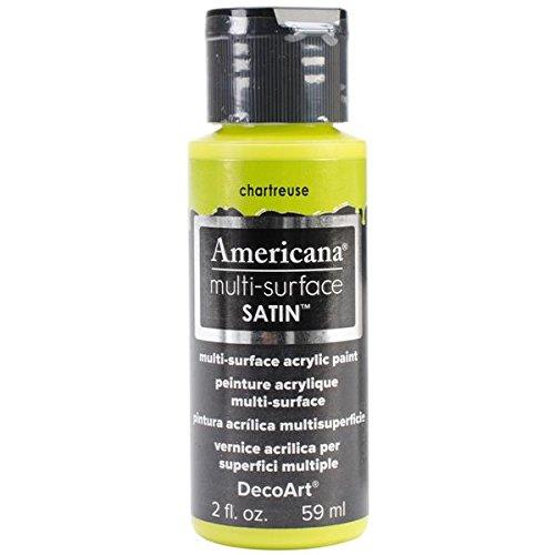 DecoArt Americana Multi Surface Acrylics Chartreuse