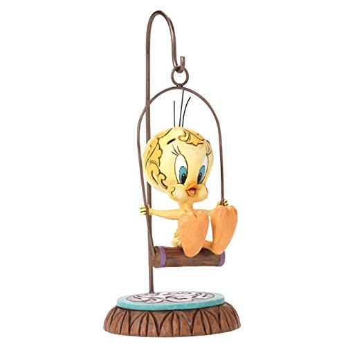 "Looney Tunes by Jim Shore Tweety Bird Stone Resin Figurine, 7.25"""