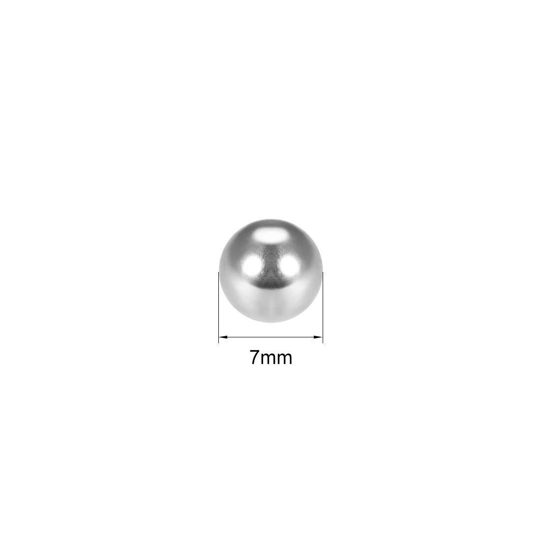 7mm G25 Chrome Steel Precision Bearing Balls 100 Pieces
