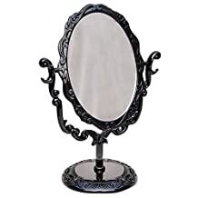 Rose Butterfly Style Make-up Mirror Vintage Desktop Cosmetic Mirror Table Vanity Mirrors Compact Makeup Mirrors