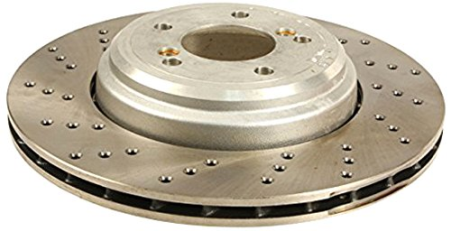 Zimmermann W0133-1846066-ZIM Brake Disc - (Vented Brake Disk)