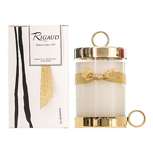 Rigaud Large Gardenia Candle Gold Edition 8.1oz