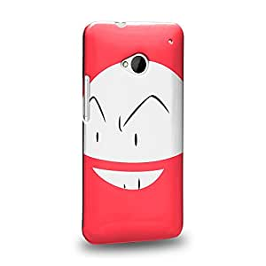 Case88 Premium Designs Pokemon Electrode Protective Snap-on Hard Back Case Cover for HTC One M7