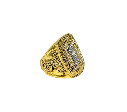 FLORIDA STATE UNIVERSITY (Clifton Abraham) 1993 BCS NATIONAL CHAMPIONS (Orange Bowl Champs) FSU Collectible Replica Gold Football Championship Ring with Cherrywood Display Box