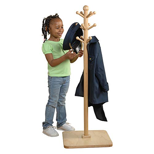 E-Z Reach Classroom Clothes Tree for Kids ()