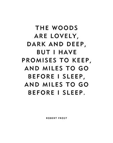 Robert Frost Quote Print