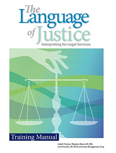 The Language of Justice: A Training Manual by Ayuda