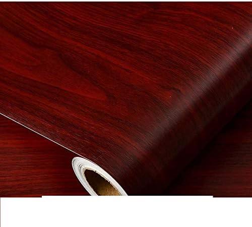 LoveHomeCandy 壁紙シール 木目調カッティングシート 壁紙の上から貼れる壁紙 木目リメイクシート おしゃれ DIY 張り替え 防水 キッチン トイレ (60X100CM,9)